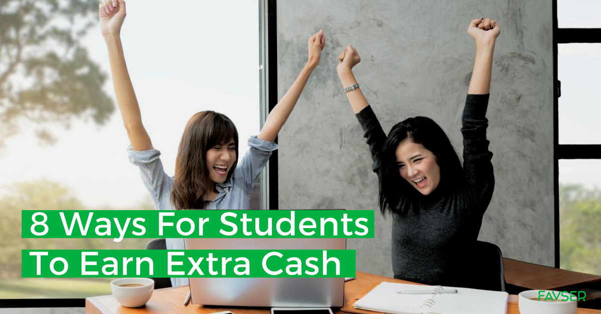 8 ways for students to earn extra cash