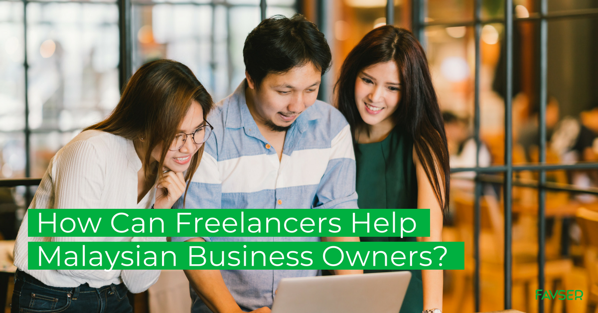 How can freelancers help Malaysian business owners